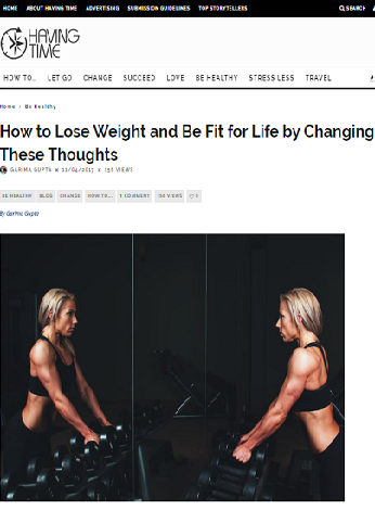 How to Lose Weight and Be Fit for Life by Changing These Thoughts