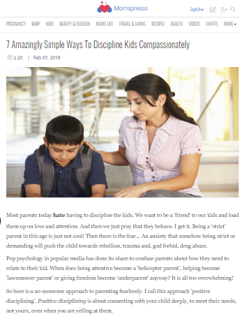 7 Amazingly Simple Ways To Discipline Kids Compassionately